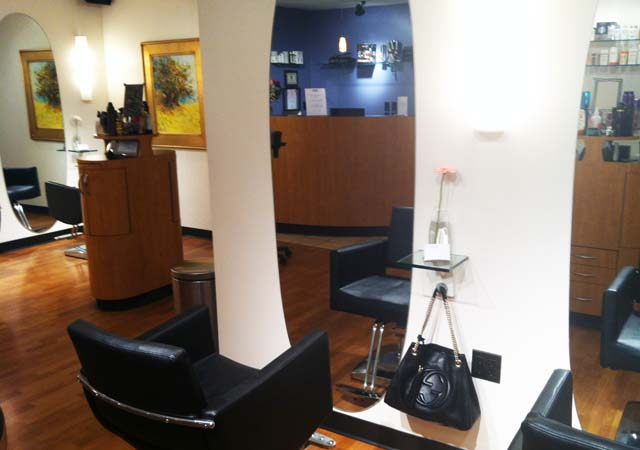A few pictures of our salon for Gravity salon